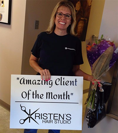 Donna Amazing client of the Month