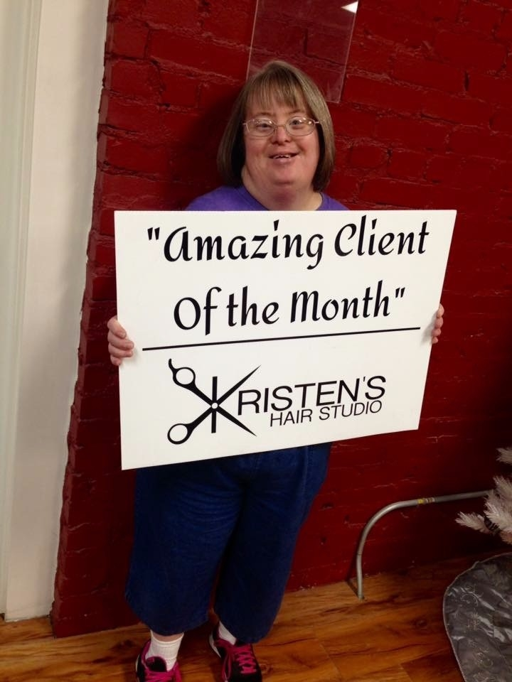 Bonnie Amazing client of the Month